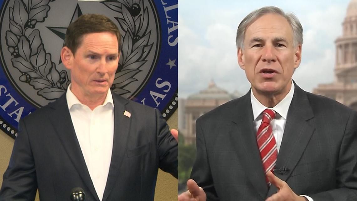 Chris Krok: Clay Jenkins VS Governor Abbott