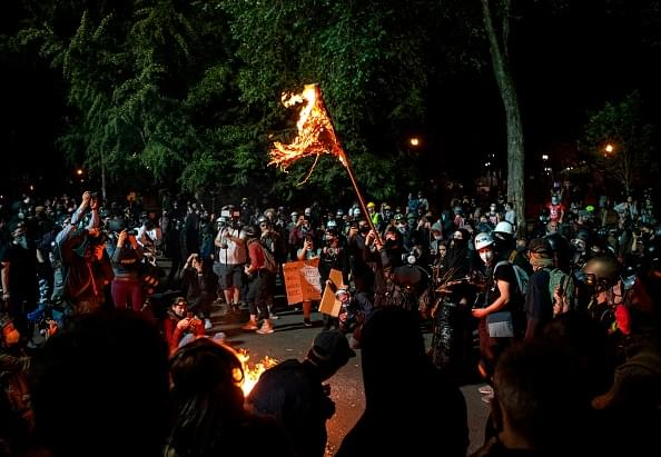 WBAP Morning News: Even Though Feds Are Gone, Riots Continue in Portland