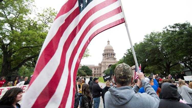 Heavy Police Presence at Texas Capitol as Lawmakers Return