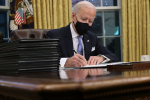Biden Signs Executive Orders on Climate, Virus