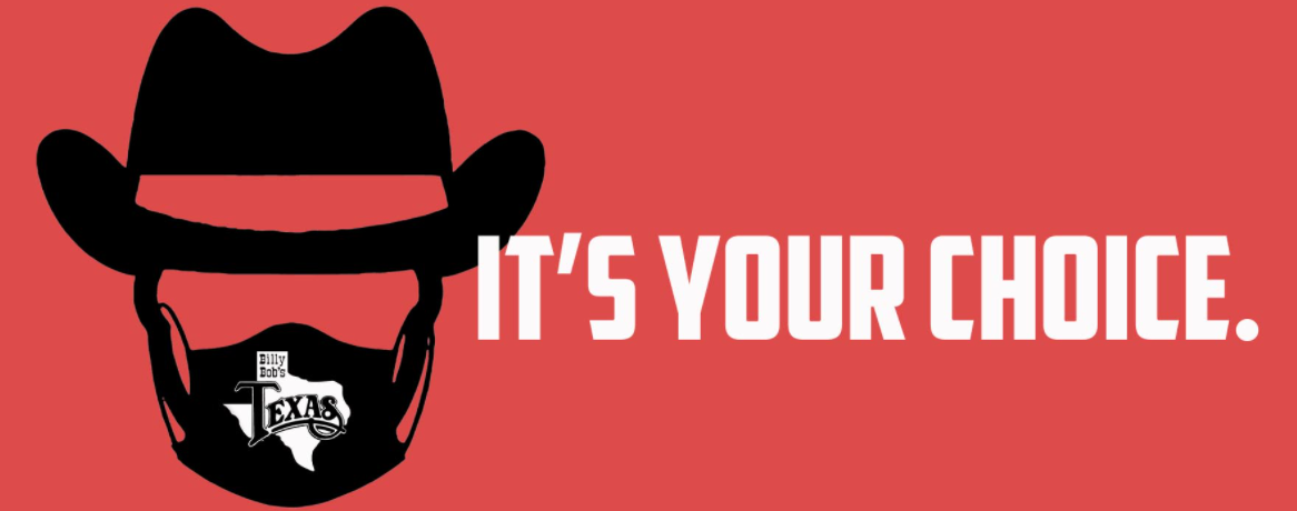 Billy Bob's Texas No Longer Requiring Masks