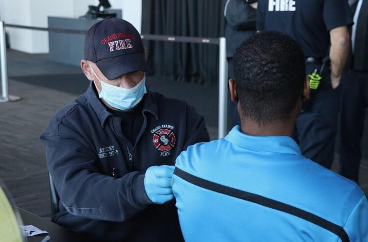 Grand Prairie, Irving Joint Vaccinations Site Reopens