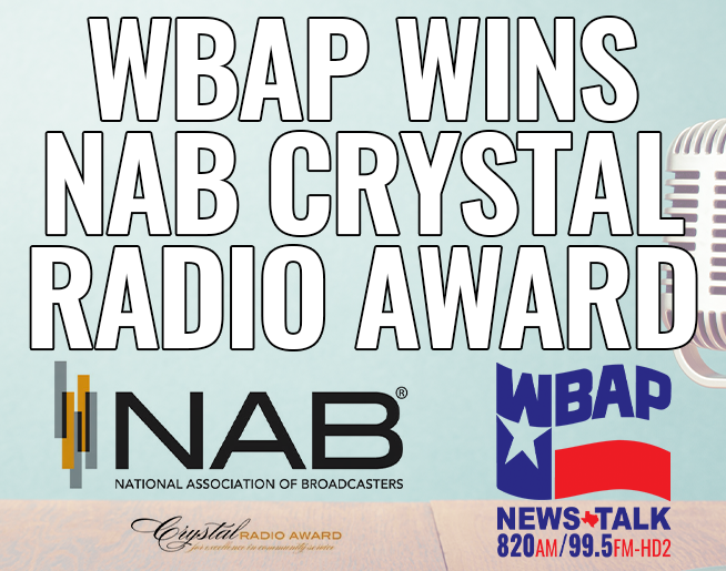 WBAP Wins NAB Crystal Radio Award