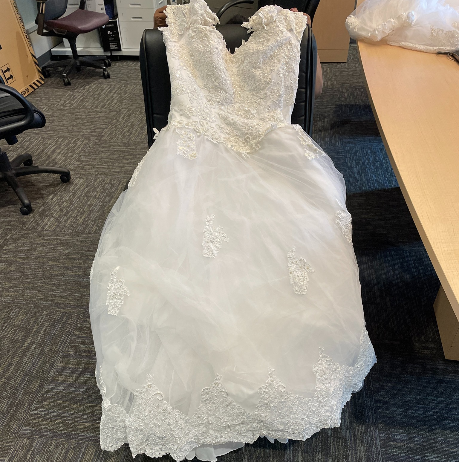 A Race to Get a Missing Wedding Dress Found on the Tollway Back to ...