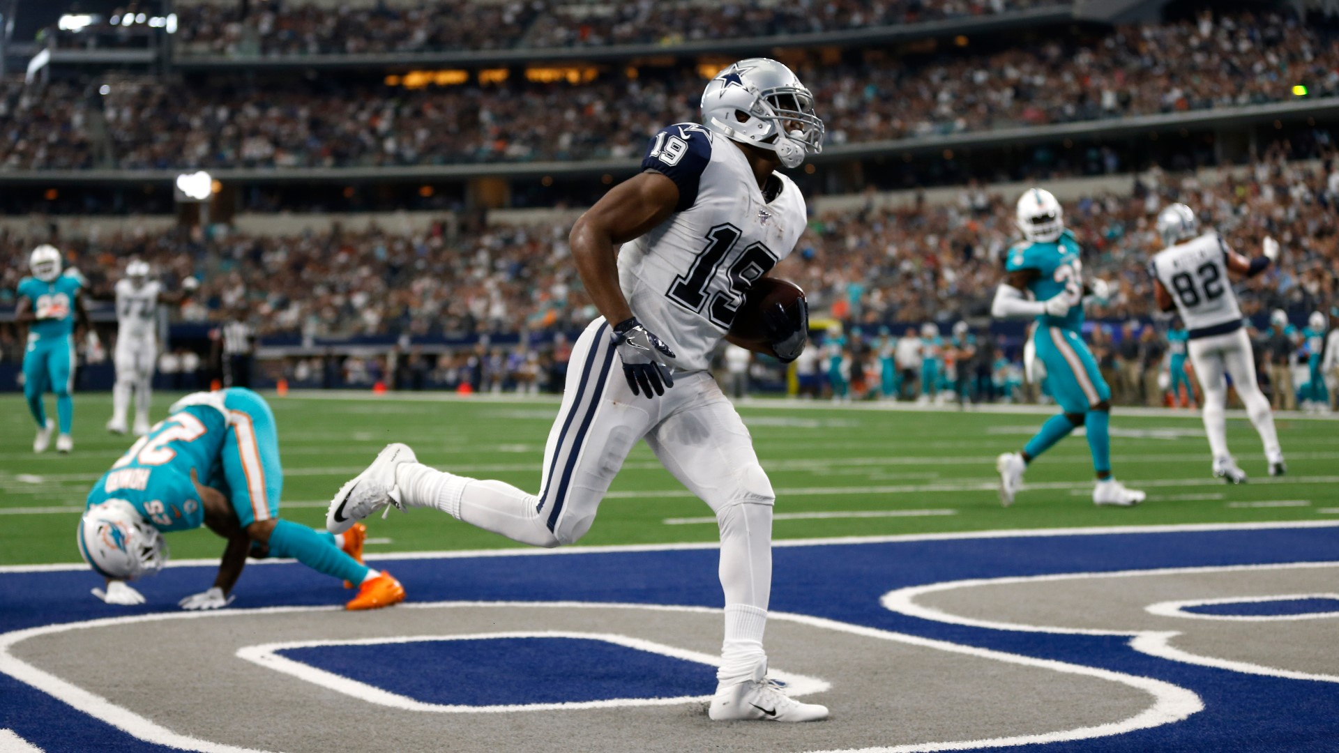 Cooper doesn't hide what he's thinking with Cowboys rolling