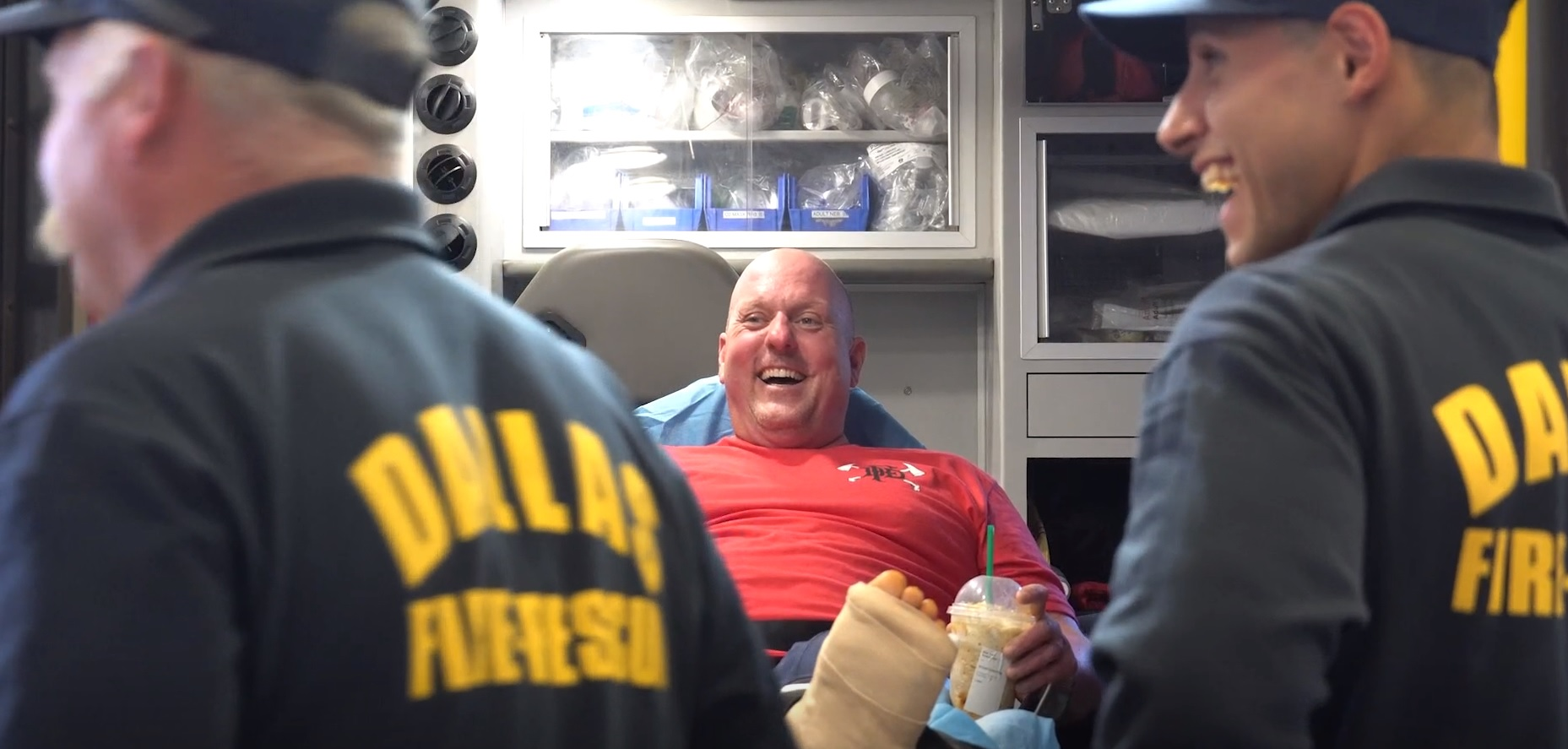 Last of 3 Dallas Firefighters Injured in Apartment Blast Released from Hospital [WATCH]