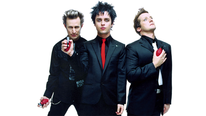 Green Day : Looking for a Backyard to Play In