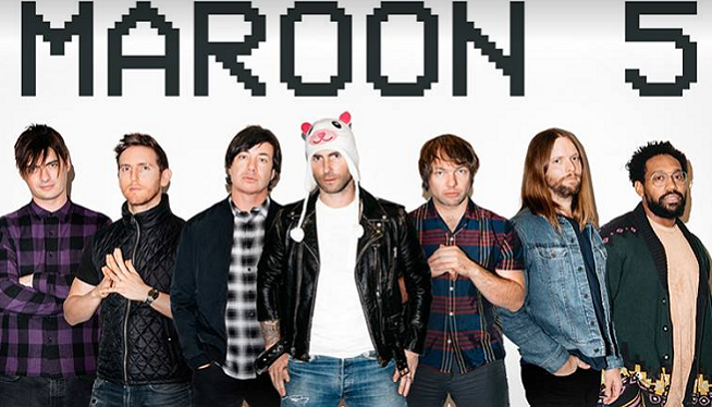 8/23/21 – Maroon 5 at DTE Energy Music Theatre