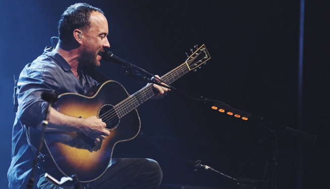 Dave Matthews is in the Midst of a Livestream Trifecta