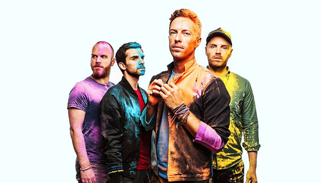"""Coldplay's """"Higher Power""""Gets a Higher Premiere"""
