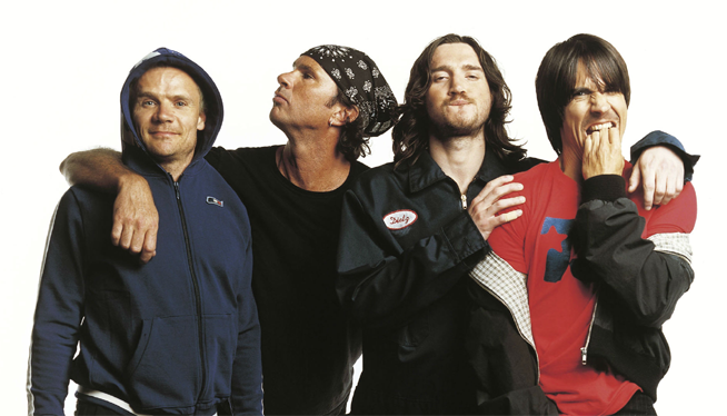 Red Hot Chili Peppers Almost Done With New Album