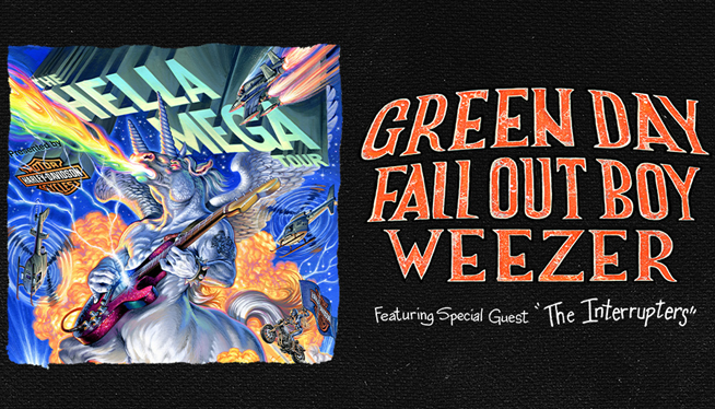 8/10/21 – Green Day, Fall Out Boy and Weezer at Comerica Park
