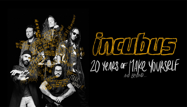 Win Incubus Tickets