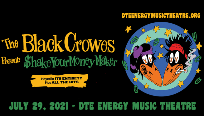 7/29/21 – The Black Crowes at DTE Energy Music Theatre