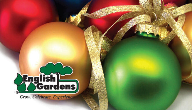 Celebrate The Holidays with English Gardens