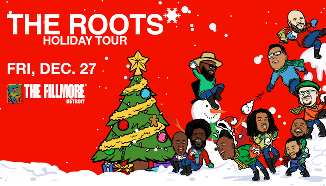 Celebrate The Holidays with The Roots