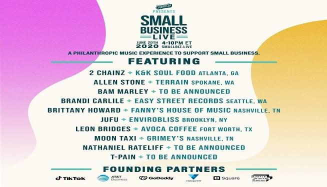 Brandi Carlile & Brittany Howard Will Play Small Business Benefit