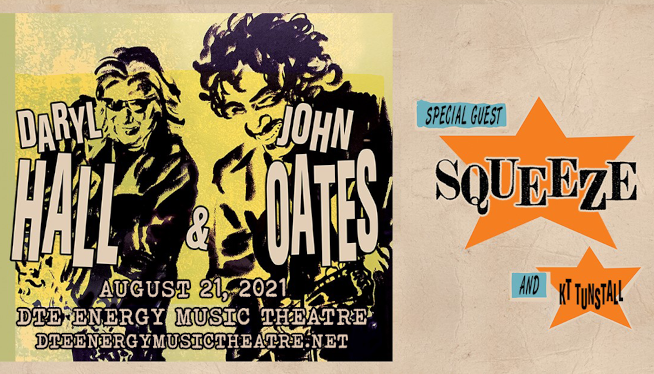 8/21/21 – Daryl Hall & John Oats at DTE Energy Music Theatre