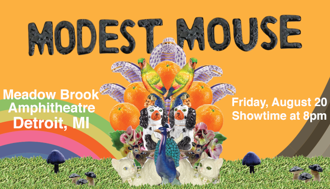 8/20/21 – Modest Mouse at Meadow Brook Amphitheatre