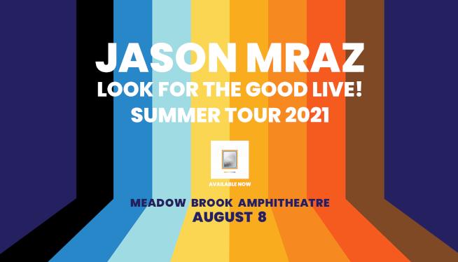 8/8/21 – Jason Mraz at Meadow Brook Amphitheatre