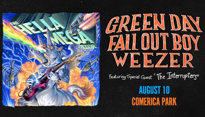 Enter to Win Hella Mega Tour Tickets