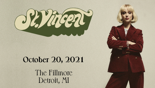 10/20/21 – St. Vincent at The Fillmore