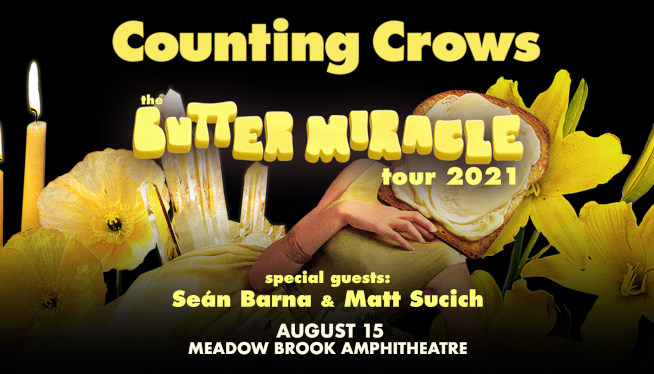 Win Tickets to see Counting Crows