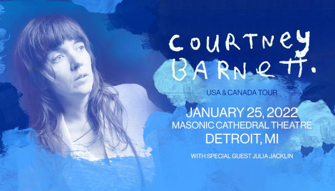 1/25/22 – Courtney Barnett at Masonic Cathedral Theatre