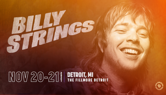 11/20/21 – Billy Strings at The Fillmore