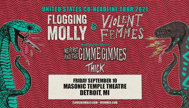 Enter to Win Flogging Molly & Violent Femmes Tickets