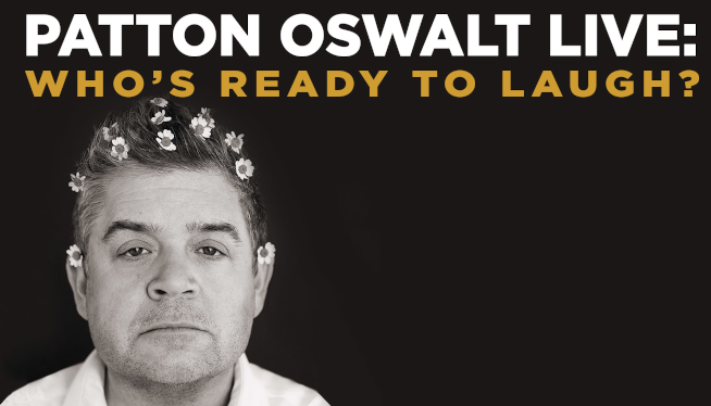 Listen to Win Patton Oswalt Tickets