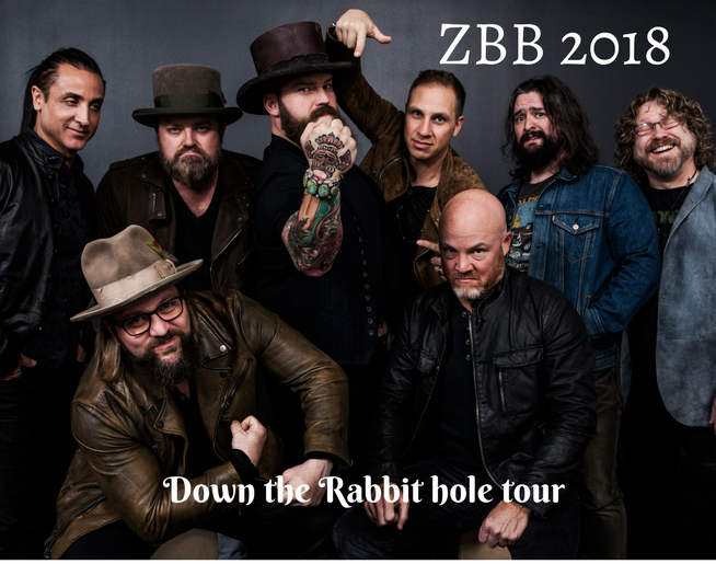 Zac Brown Band 2018 Tour