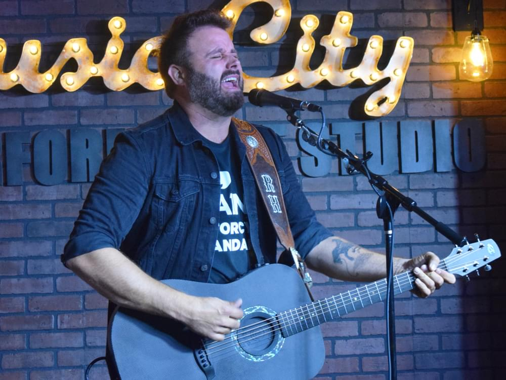 "Listen to Randy Houser's Vintage Croon in New Single, ""No Stone Unturned"""