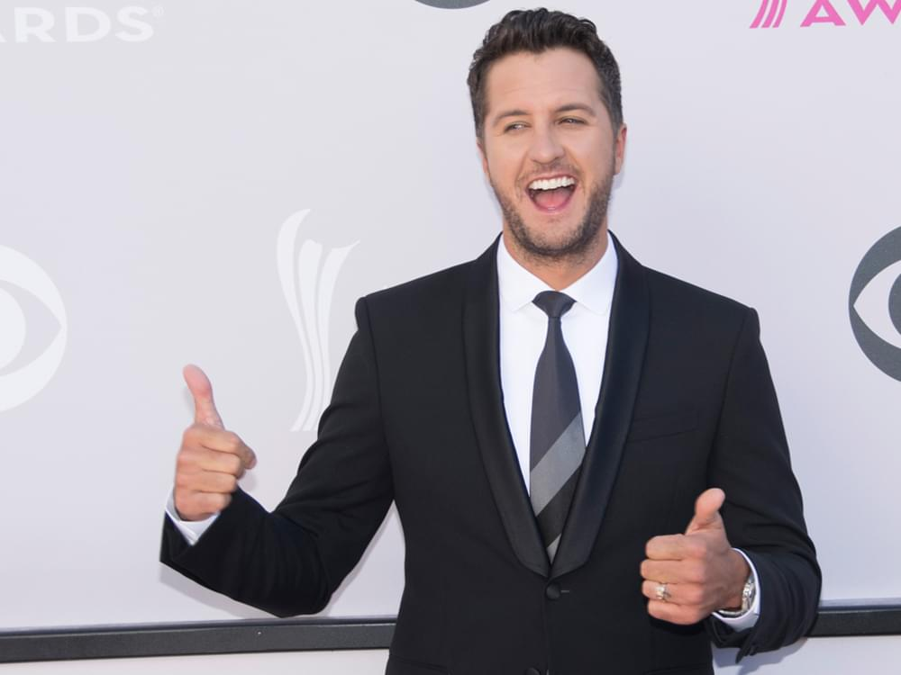 "Luke Bryan Wins Inaugural ACM Album of the Decade for ""Crash My Party"""