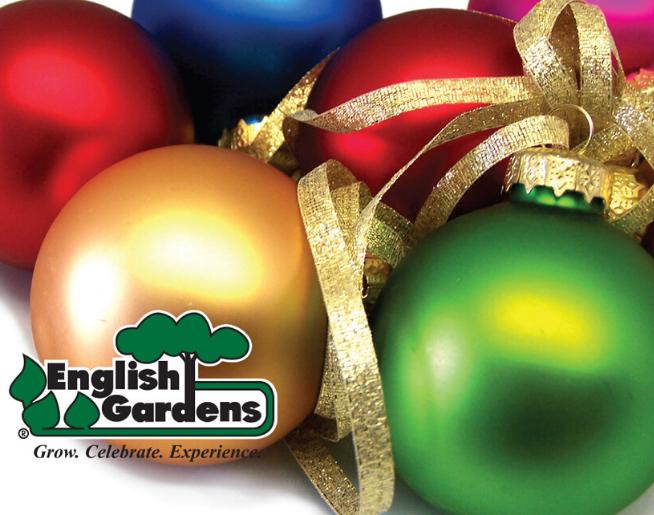 English Gardens' Celebrate the Holidays