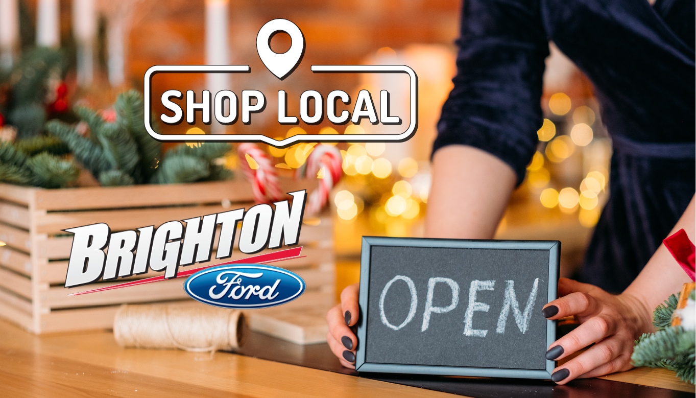 Shop Local with Brighton Ford