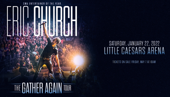 Eric Church Live in Detroit!