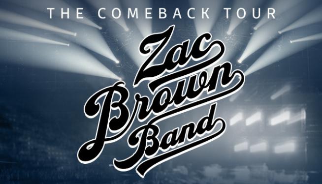 Zac Brown Band at DTE