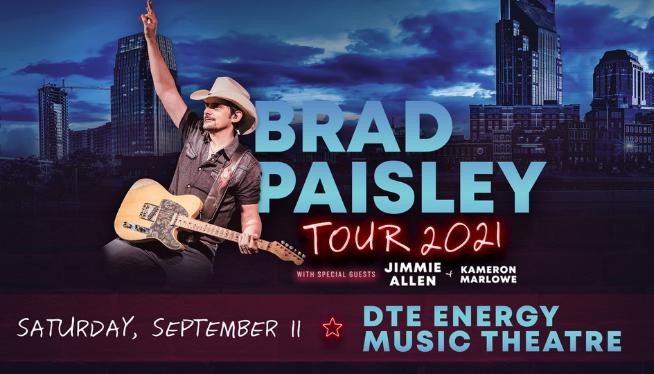 Brad Paisley Live at DTE
