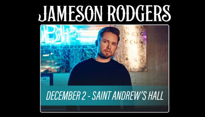 Jameson Rodgers at Saint Andrews Hall