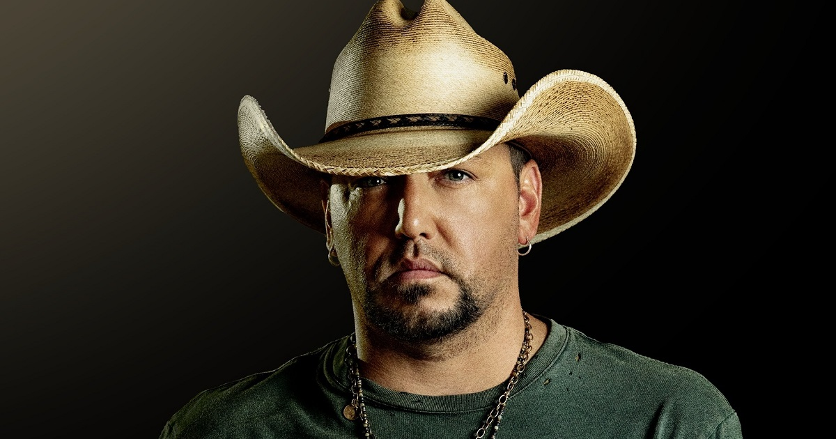 Jason Aldean Shares That a Special Guest Came to See Him Back In the Saddle