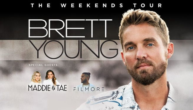 Brett Young Live in Detroit