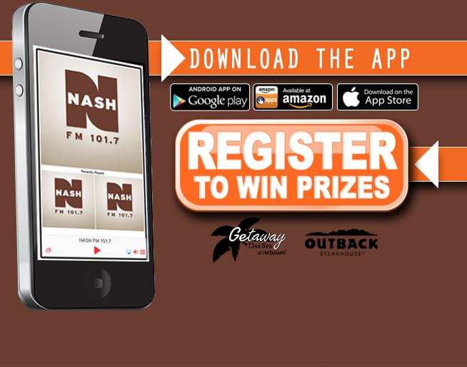 Download the NASH FM 101 7 App and register to win prizes