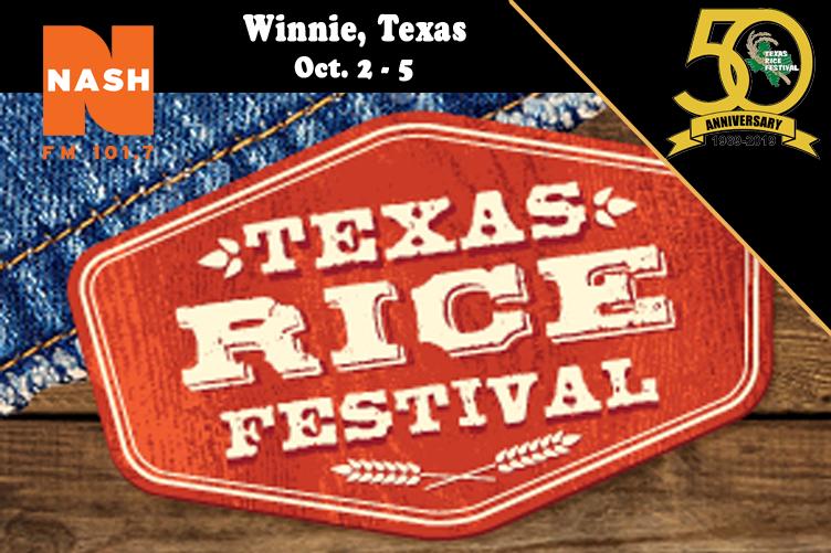 Texas Rice Festival 2018