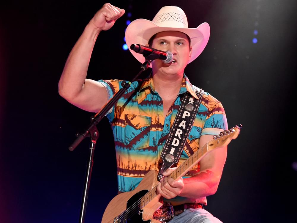 "Jon Pardi Scores Fourth No. 1 Single With ""Heartache Medication"""