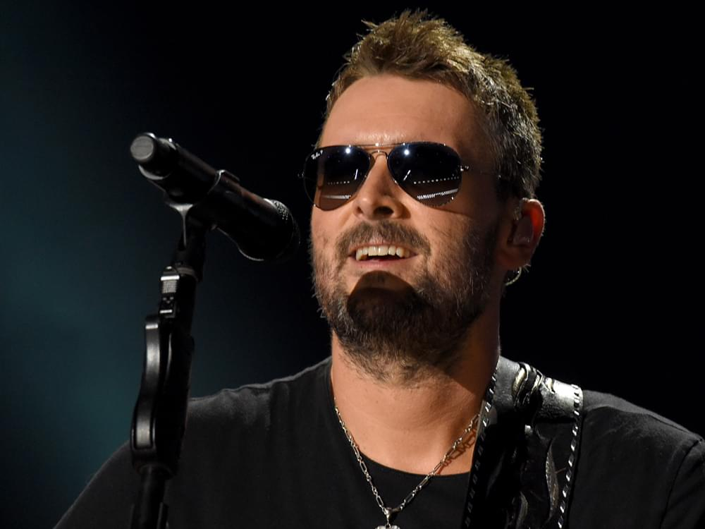"""Luke Combs Tops the Charts With His """"Number One Songwriting Hero, Eric Church"""""""