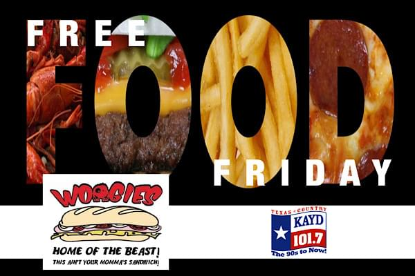 Free Food Friday!