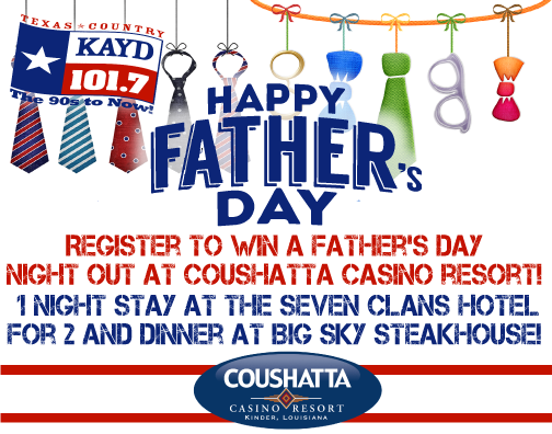 Coushatta Father's Day Giveaway