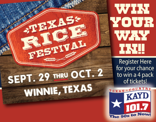 Register Here for Your Chance to Win Tickets to the Texas Rice Festival!