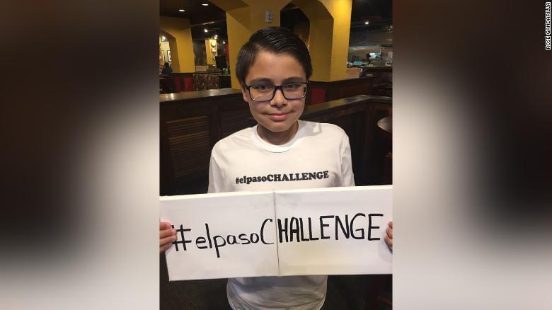 """A 11-Year Old Kid Has Started the """"El Paso Challenge"""" to Do Good Deeds to Heal the Community"""